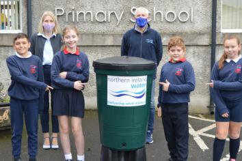 'Water' lot of fun for pupils at Fivemiletown Primary School