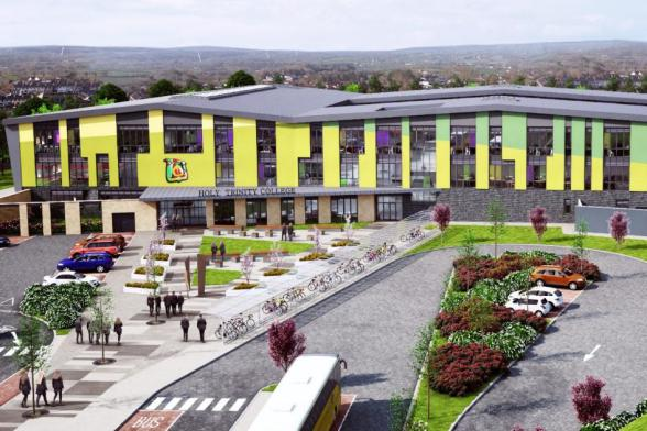 Work to start on new £30 million Holy Trinity College, Cookstown