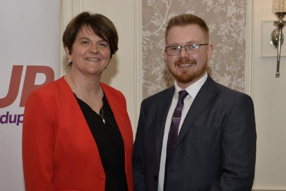 David Black's son to contest election as DUP candidate